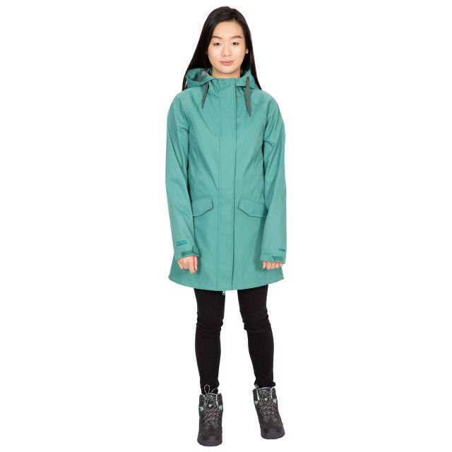 Trespass Womens Softshell Jacket Water Resistant Matilda in Green