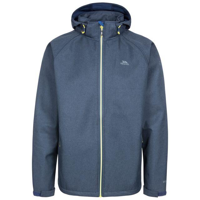 Maverick Men's Water Resistant Softshell Jacket in Navy