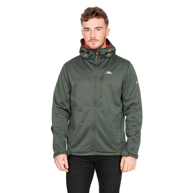 Maynard Men's Breathable Windproof Softshell Jacket in Green