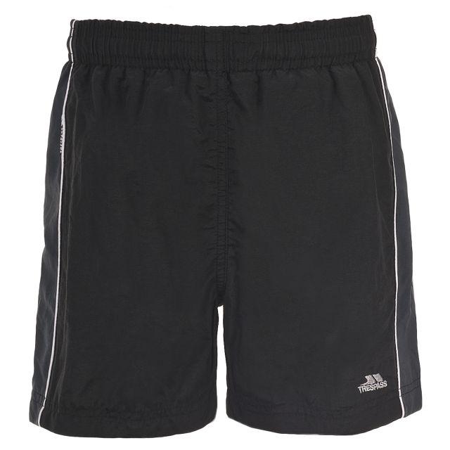 Brandon Kids' Swim Shorts in Black