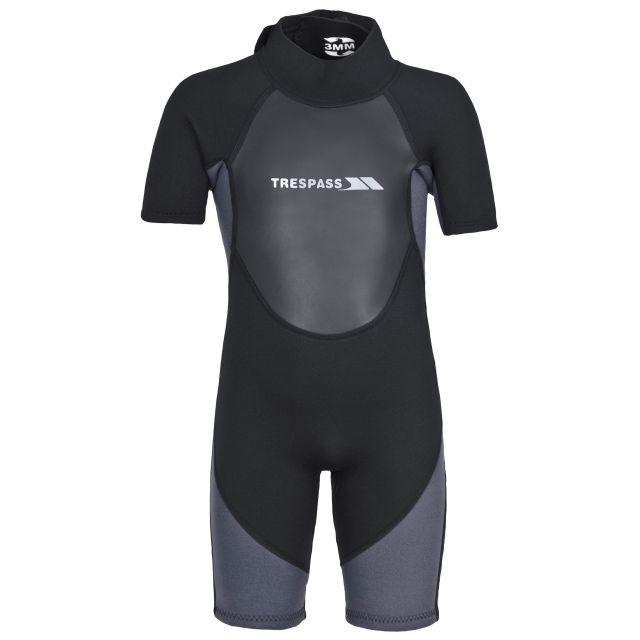 Trespass Kids Black Wetsuit Scuba