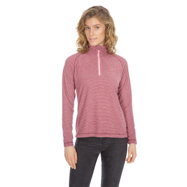 Meadows Women's 1/2 Zip Fleece in Purple