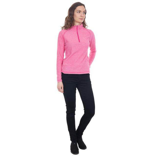 Meadows Women's 1/2 Zip Fleece in Pink