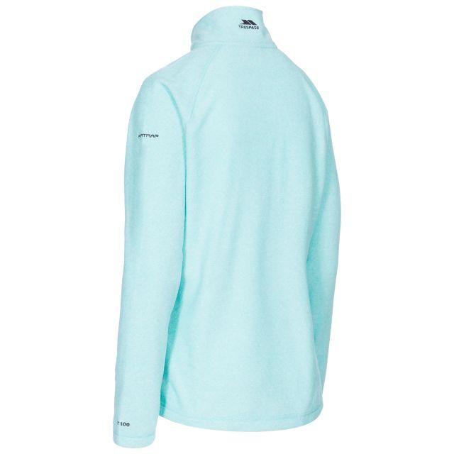 Meadows Women's 1/2 Zip Fleece in Light Blue