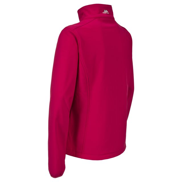 Trespass Womens Softshell Jacket Meena in Pink