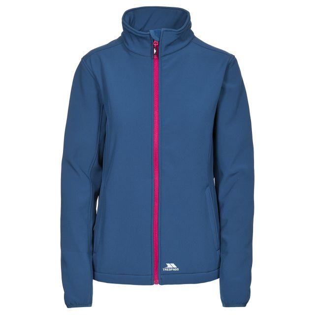 Trespass Womens Softshell Jacket Meena in Blue