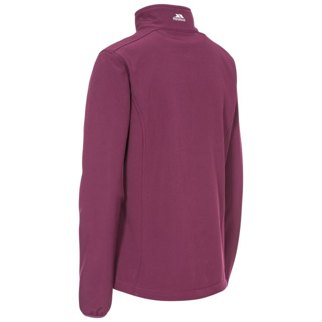 Trespass Womens Softshell Jacket Meena in Purple
