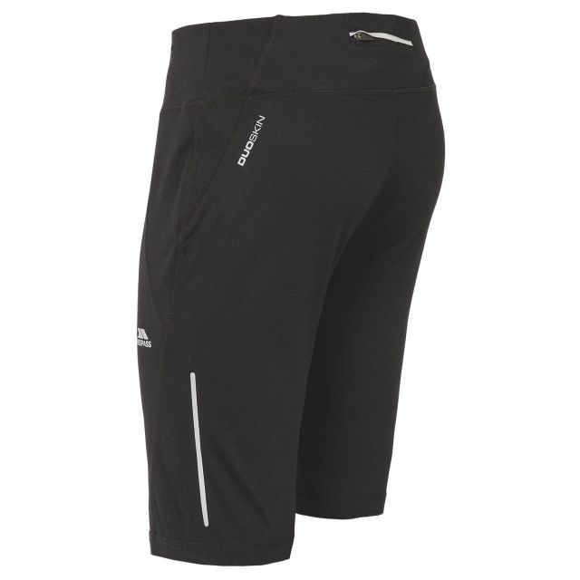 Melodie Women's Quick Dry Cycling Shorts in Black