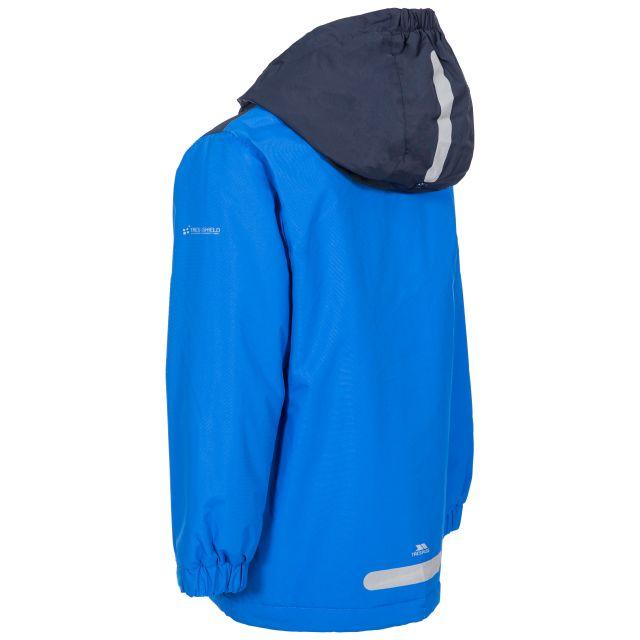 Trespass Kids Padded Waterproof Jacket in Blue Mikael