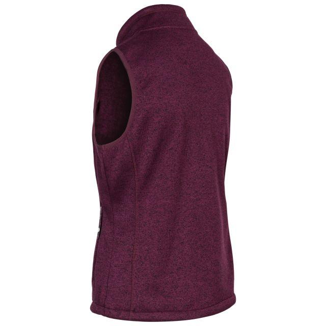 Mildred Women's Fleece Gilet in Purple