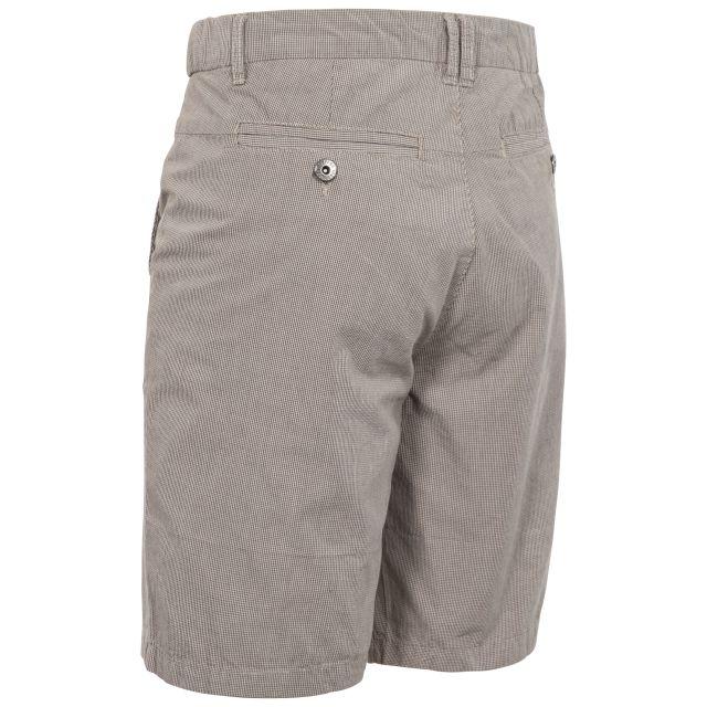 Miner Men's Cotton Travel Shorts in Beige