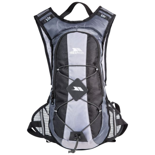 Trespass 15L Silver Cycling Hydration Pack Mirror