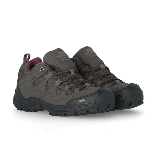 Mitzi Women's Waterproof Walking Shoes in Brown