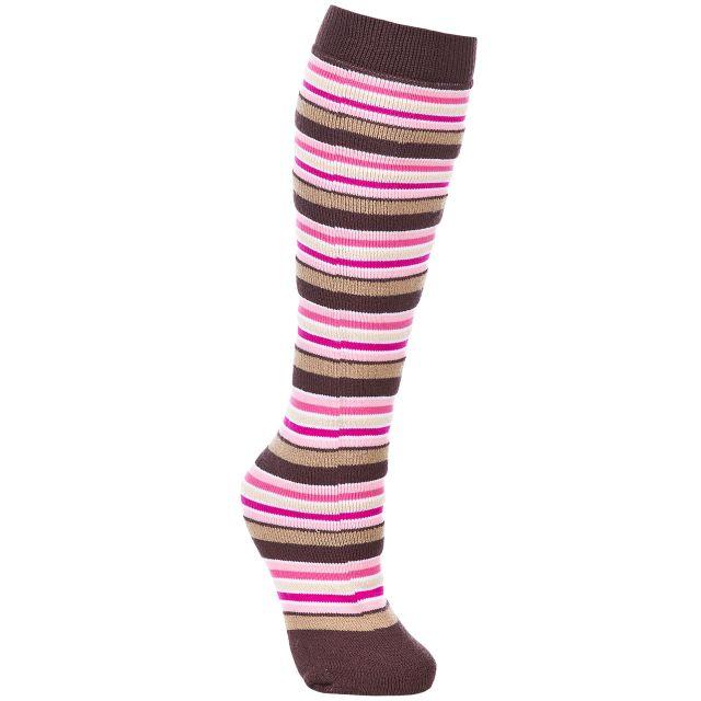 Trespass Unisex Ski Sock in Assorted Multi Stripe
