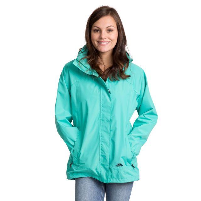 Trespass Womens Waterproof Jacket Nasu II in Light Blue