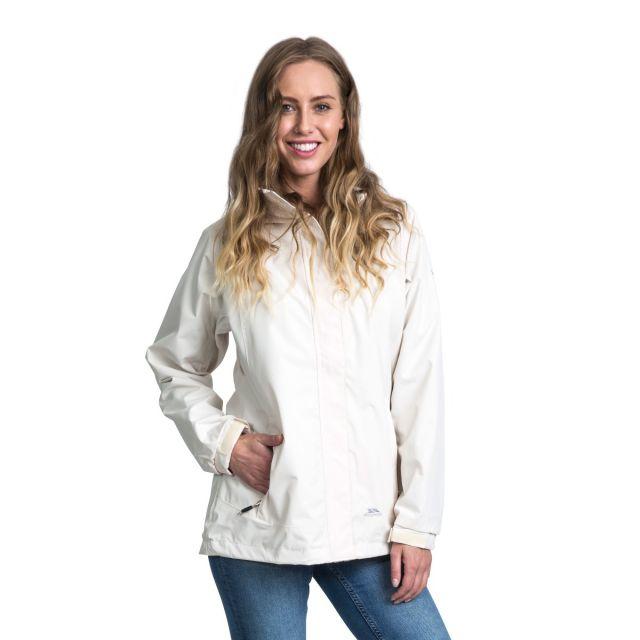 Trespass Womens Waterproof Jacket Nasu II in White
