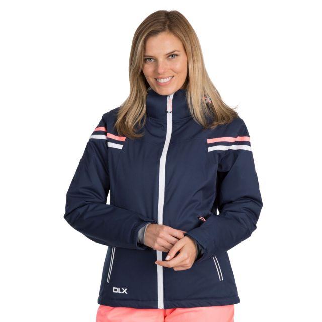 DLX Womens Waterproof Ski Jacket Recco Natasha in Navy