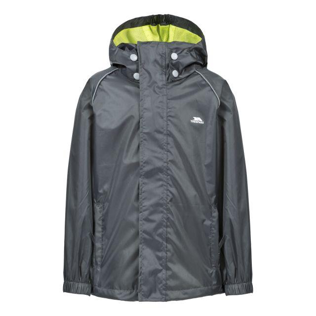 Neely II Kids' Waterproof Jacket in Grey