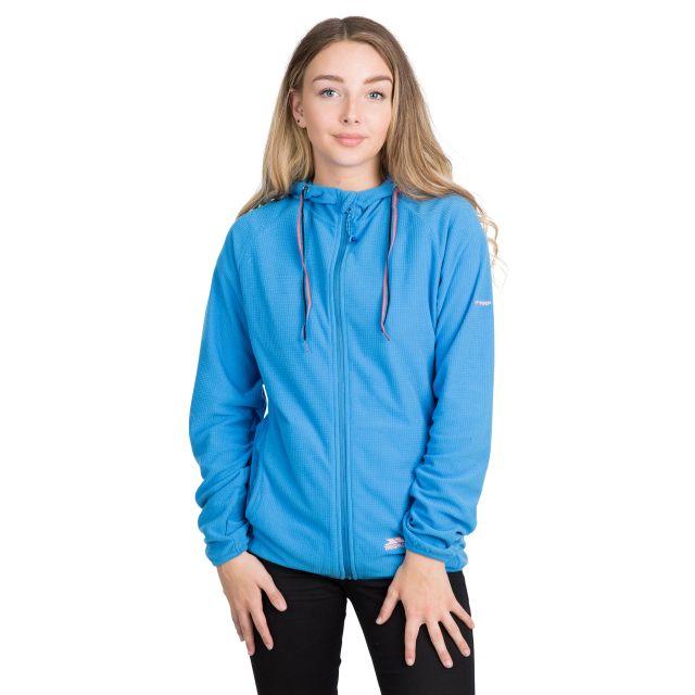 Network Women's Fleece Hoodie in Blue