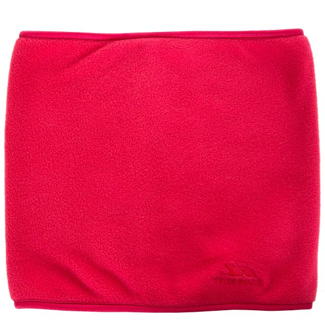 Trespass Adults Fleece Neck Warmer in Pink Novax