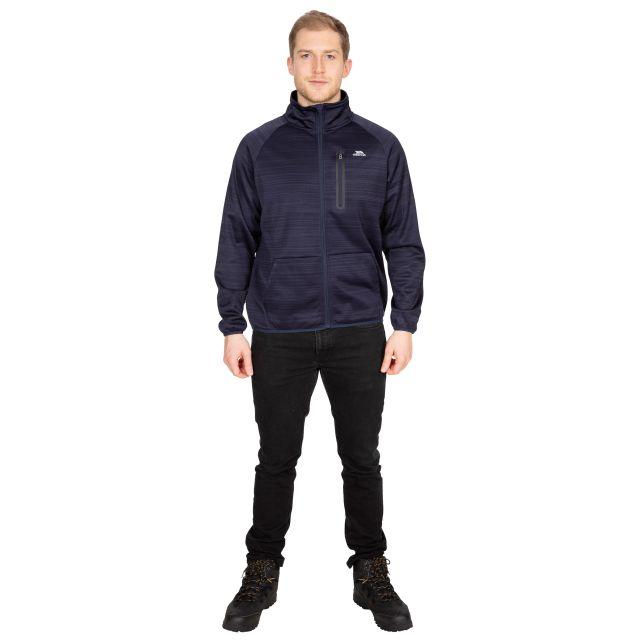 Oppy Men's Fleece Jacket in Navy