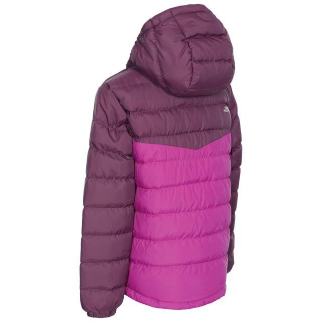 Oskar Kids' Padded Casual Jacket in Purple