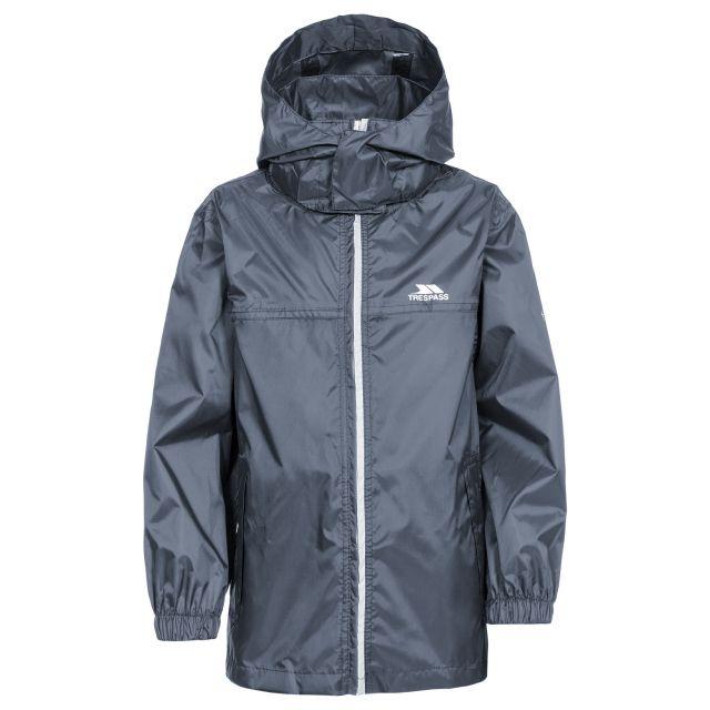 Packup Kids' Packaway Jacket in Grey