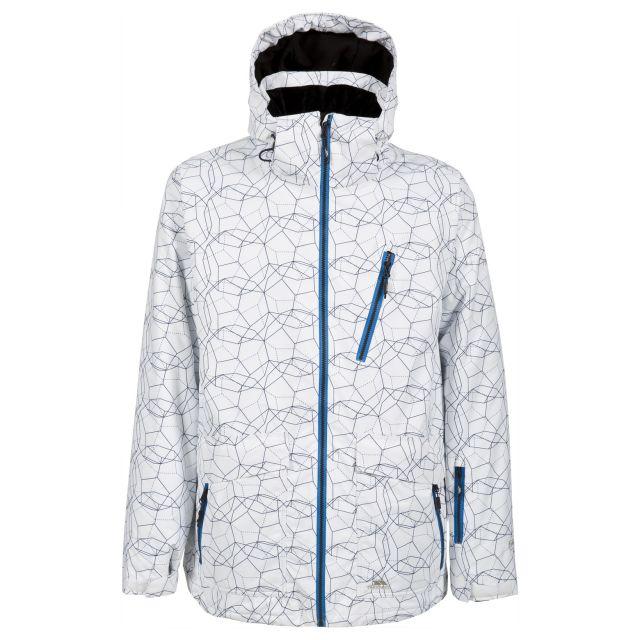 Persis Mens Ski Jacket in White