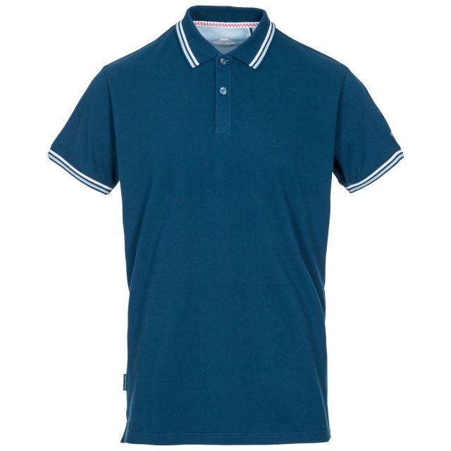 Polobrook Mens Polo Shirt in Navy