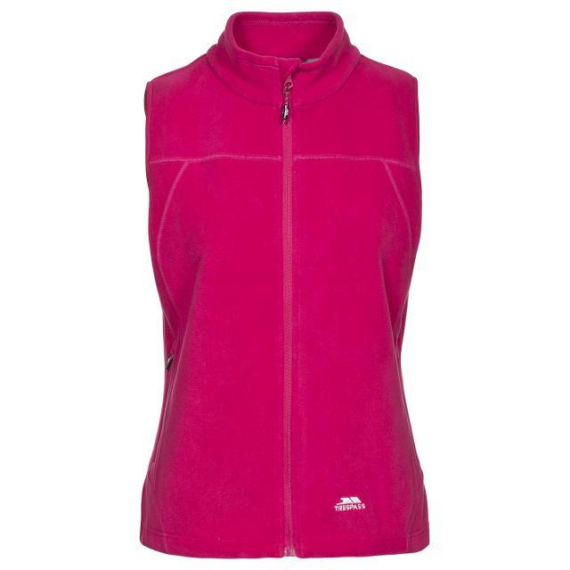 Pria Women's Fleece Gilet in Pink