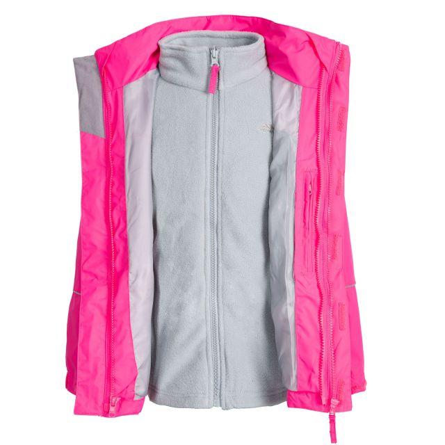 Prime II Kids' 3-in-1 Waterproof Jacket in Pink