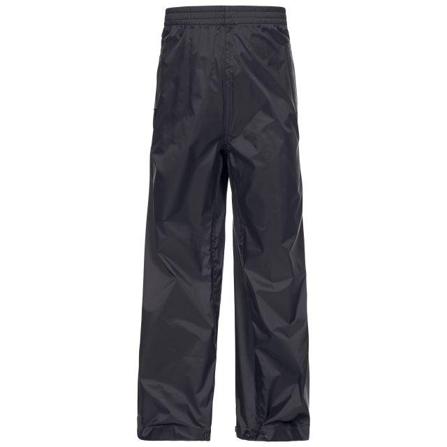 Qikpac Kids' Waterproof Trousers in Black