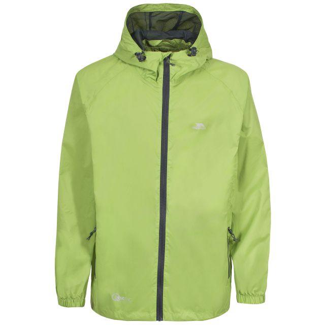 Trespass Adults Waterproof Packaway Jacket in Green Qikpac