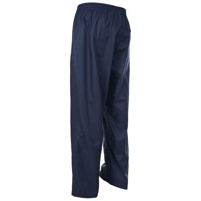 Trespass Adults Packaway Waterproof Trousers in Navy Qikpac