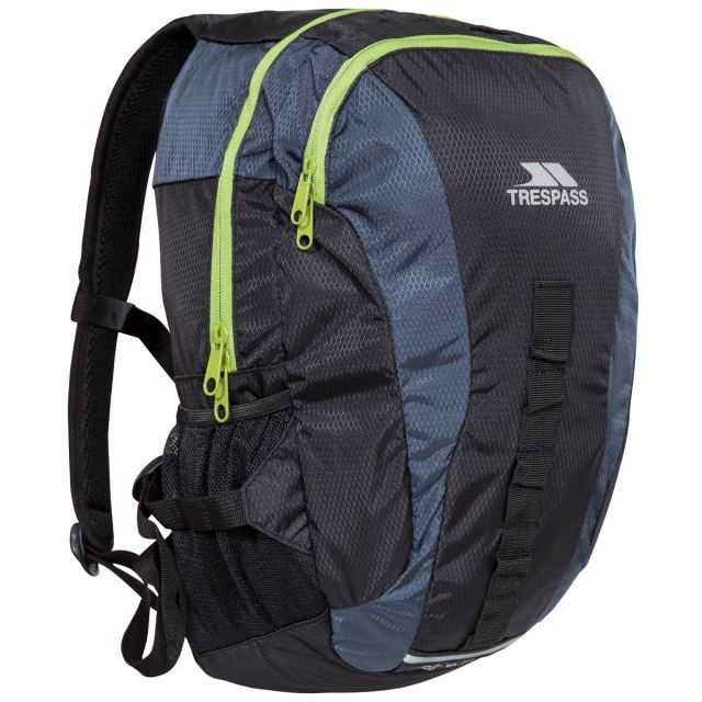 Trespass 20L Grey Reflective Backpack Race