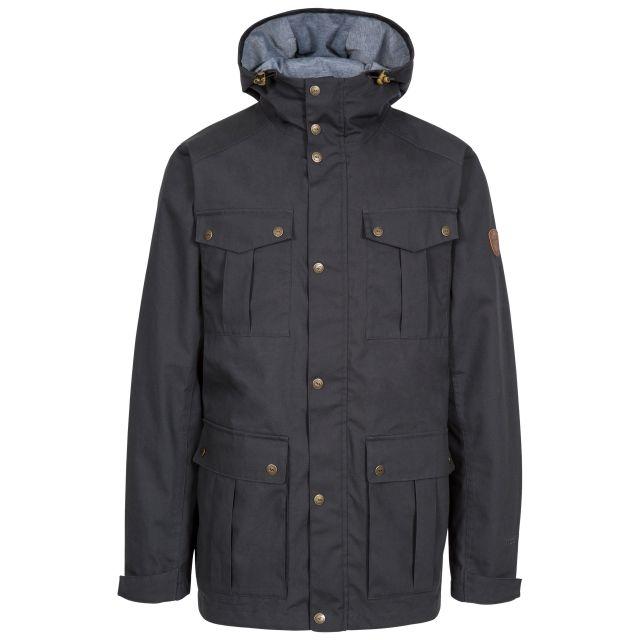 Raharra Men's Waterproof Jacket in Grey