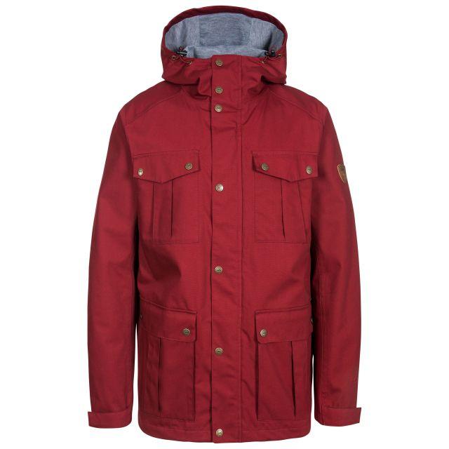 Raharra Men's Waterproof Jacket in Red