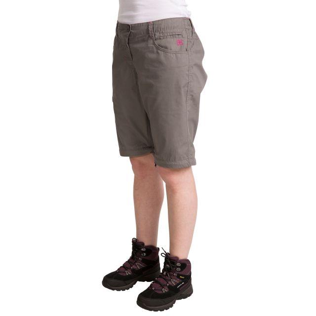 Rambler Women's Zip Off Cargo Trousers in Grey