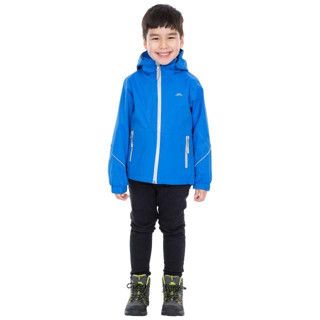 Trespass Kids Waterproof Jacket in Blue Rapt