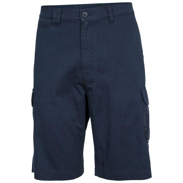Rawson Men's Cargo Shorts in Navy, Front view on mannequin