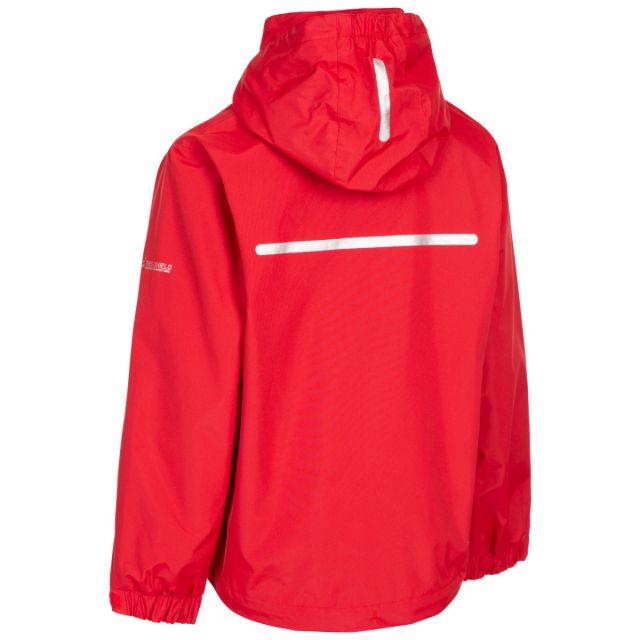 Trespass Kids Waterproof Detachable Hood Jacket in Navy Raymont