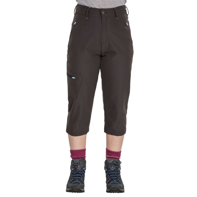 Recognise Women's Quick Dry 3/4 Length Trousers in Khaki