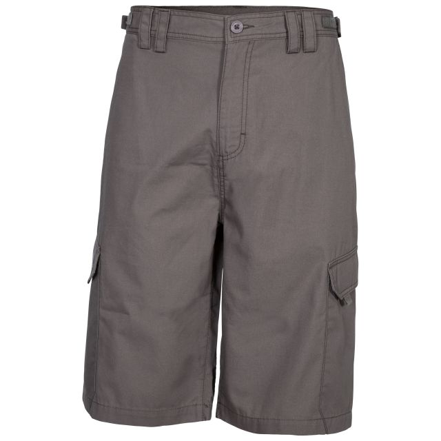 Regulate Men's Quick Dry Cargo Shorts in Brown, Front view on mannequin