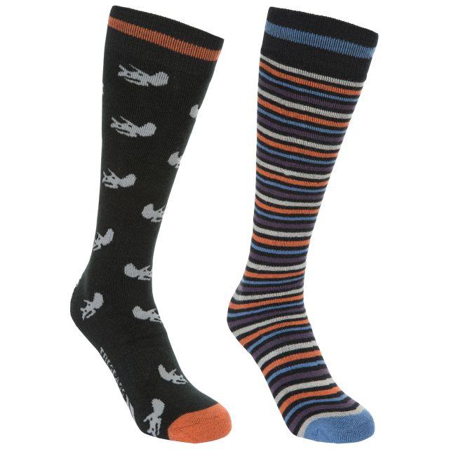Replicate Kids' Tube Socks - 2 Pack in Black