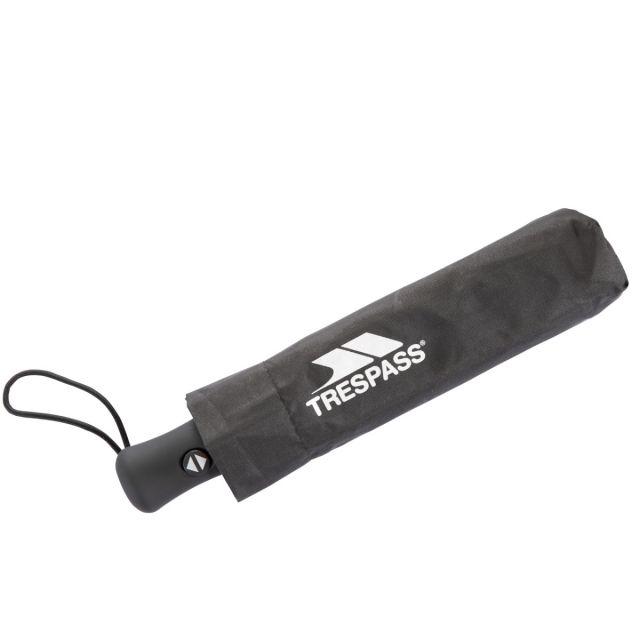 Trespass Compact Umbrella in Black Resistant
