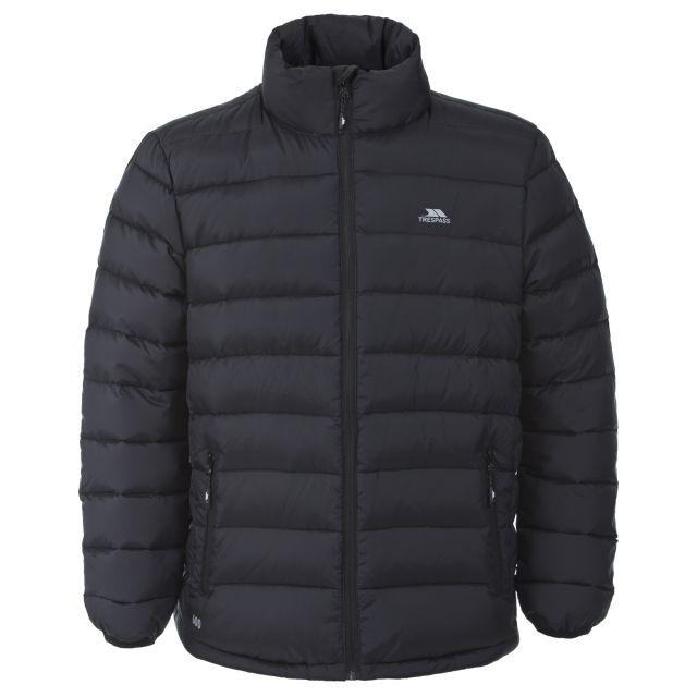 Retreat Men's Casual Down Jacket in Black