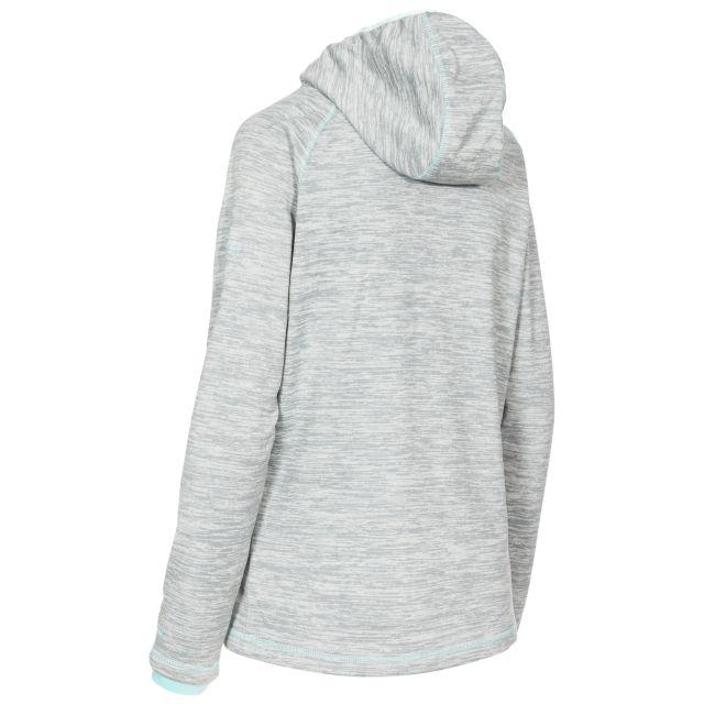 Riverstone Women's Full Zip Fleece Hoodie in Light Grey