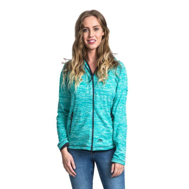 Riverstone Women's Full Zip Fleece Hoodie in Turquoise