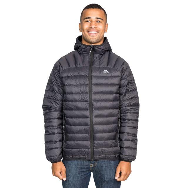 Romano Men's Down Packaway Jacket in Black