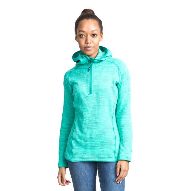 Romina Women's Hooded Fleece in Blue